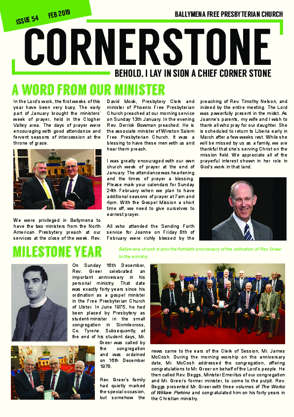 Cornerstone Issue 54